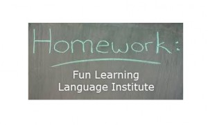 Fun Learning Language Institute Homework