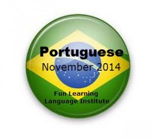 Fun Learning Language Institute Portuguese Courses nov 2014